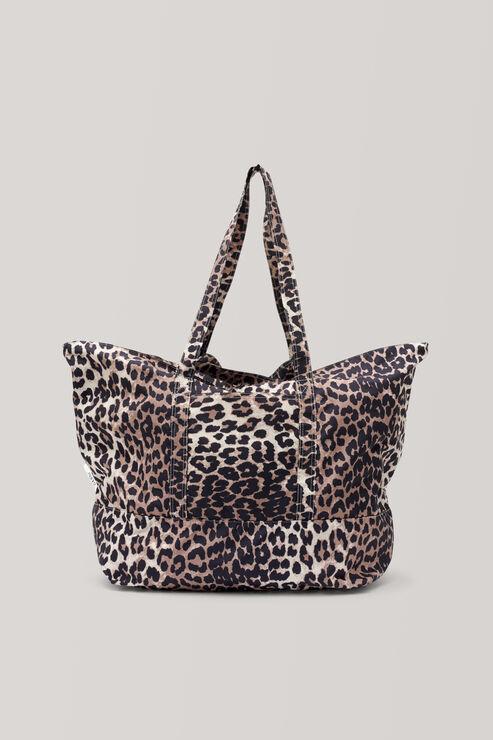 Fairmont Accessories Shopper Bag, Leopard, hi-res