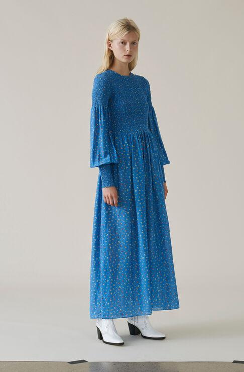 Beacon Maxi Dress, Marina, hi-res