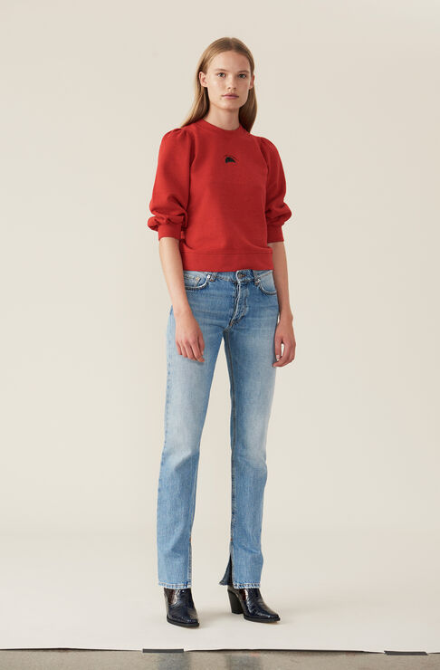 Lott Isoli Sweatshirt, Mon Amour, Fiery Red, hi-res