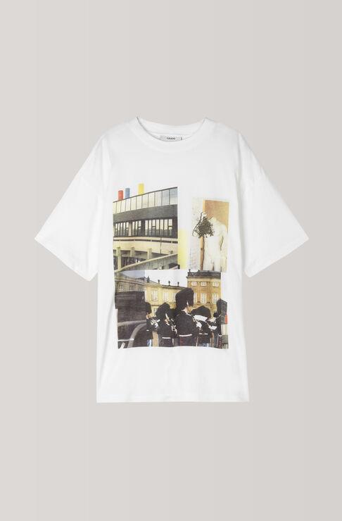 Davis T-shirt, Mix Oversized, Bright White, hi-res