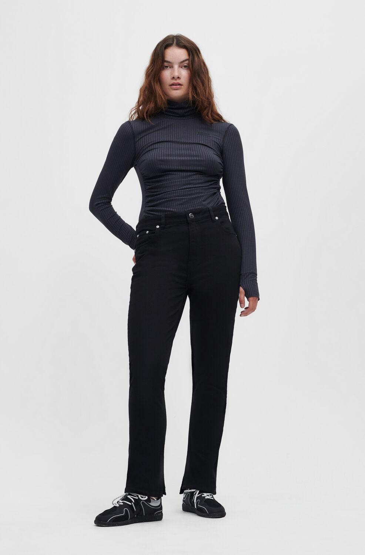가니 블랙진 Ganni Beksi Jeans,Black/Black
