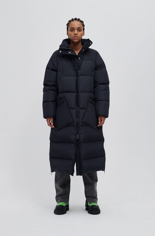가니 오버사이즈 패딩 롱자켓Ganni Recycled Polyester Oversized Puffer Coat,Phantom