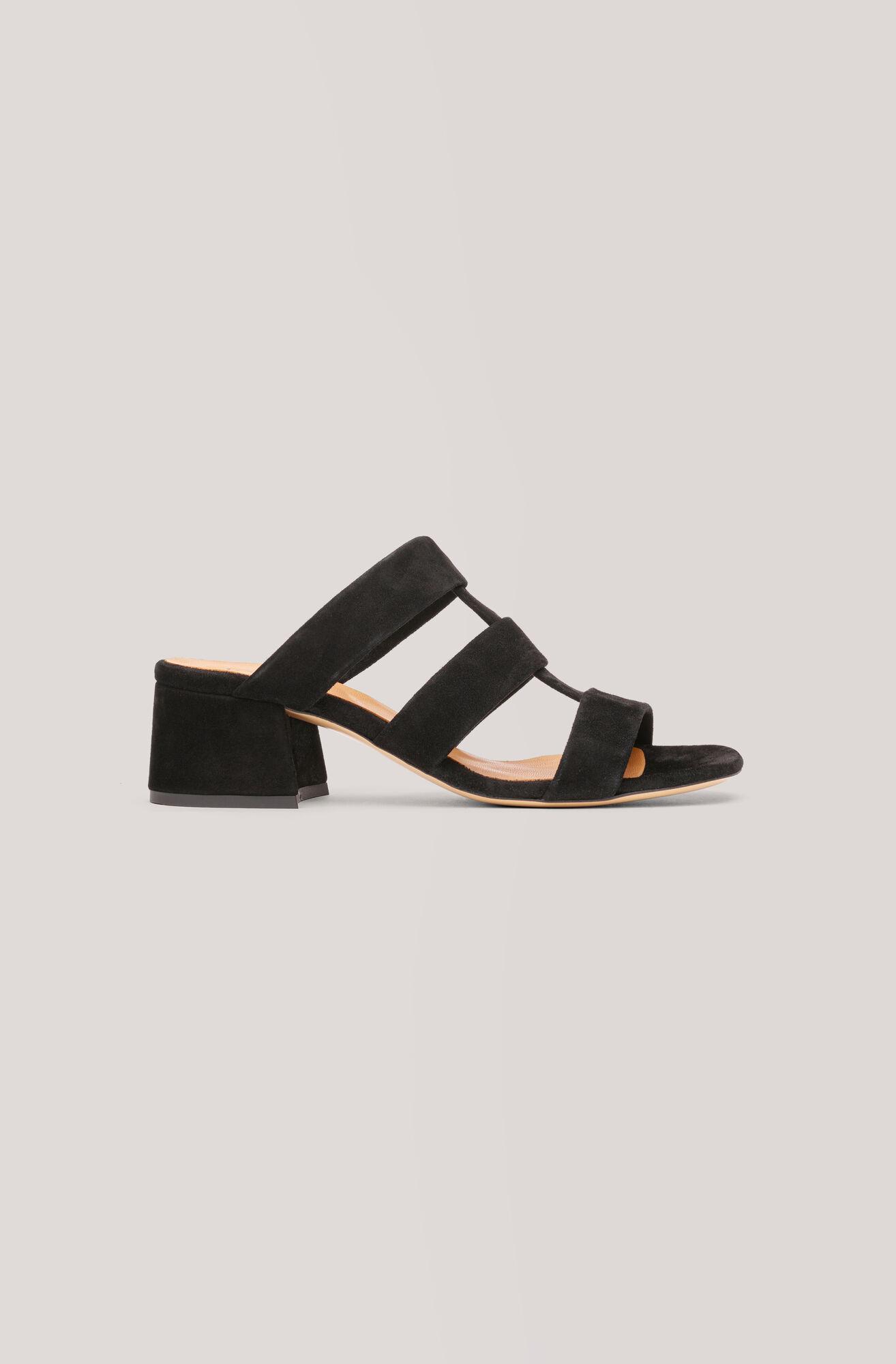 Olive Sandals, Black, hi-res