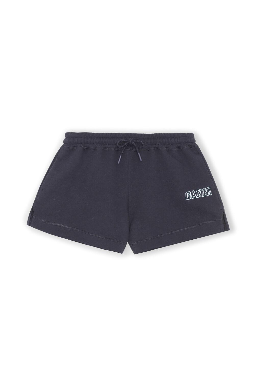 가니 GANNI Software Drawstring Isoli Shorts,Sky Captain
