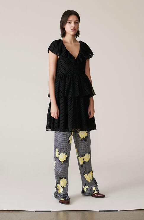 Jasmine Dress, Black, hi-res