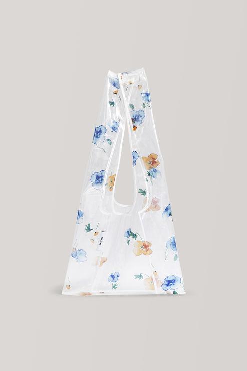 Petunia Tote Bag, Transparent, hi-res