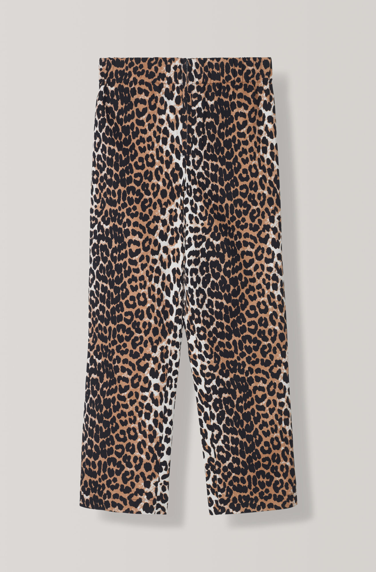 Fabre Cotton Pants, Leopard, hi-res