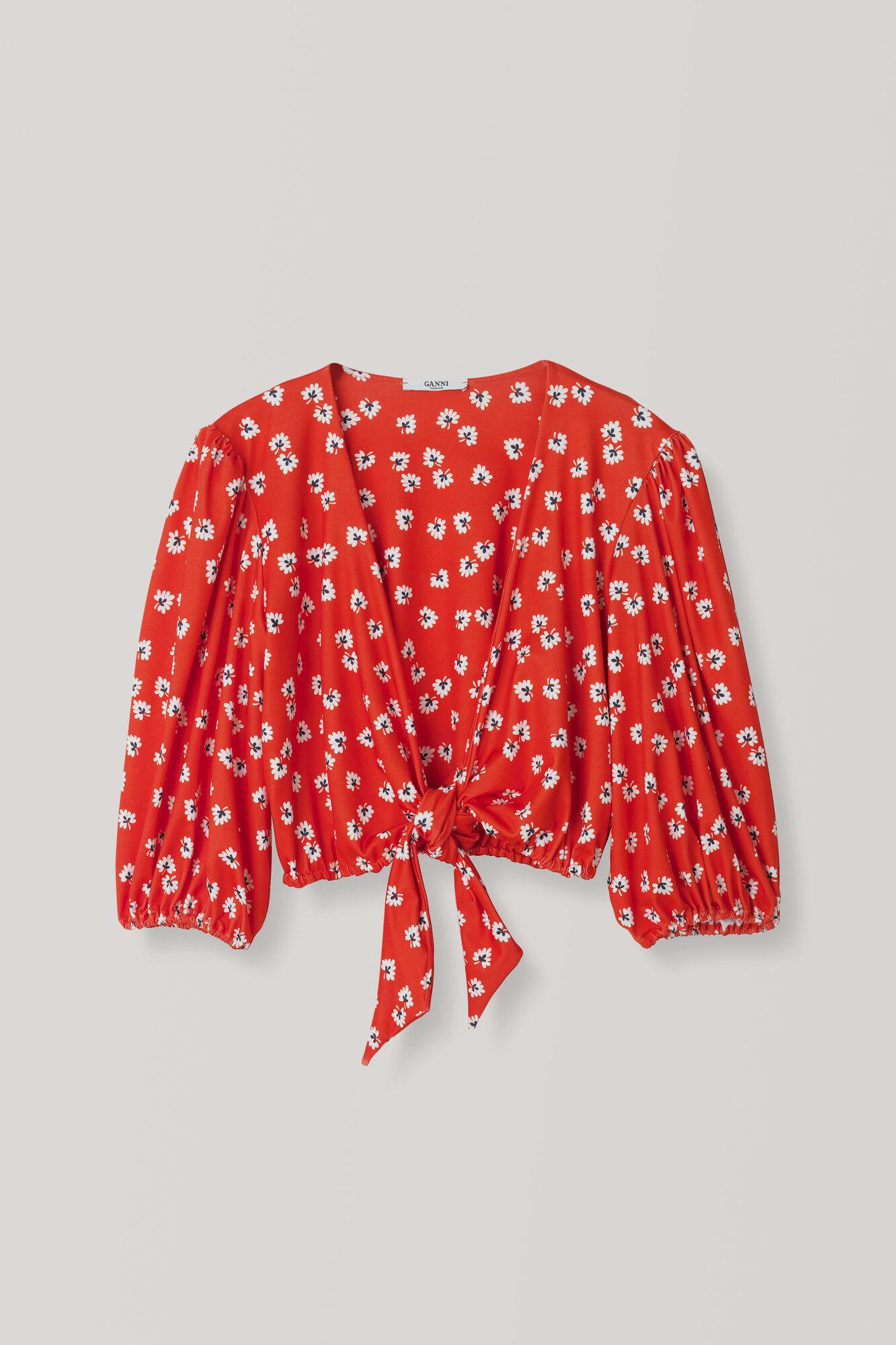 Columbine Swimwear Top, Big Apple Red, hi-res
