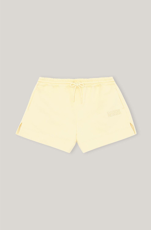 가니 GANNI Software Drawstring Isoli Shorts,Anise Flower