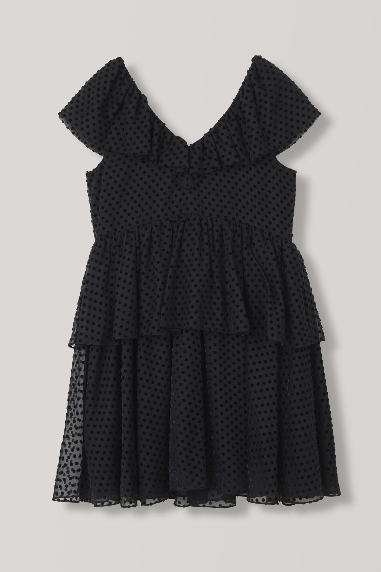 Jasmine Dress, Black, hi-res
