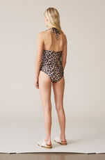 Avalon Swimwear Swimsuit, Leopard, hi-res