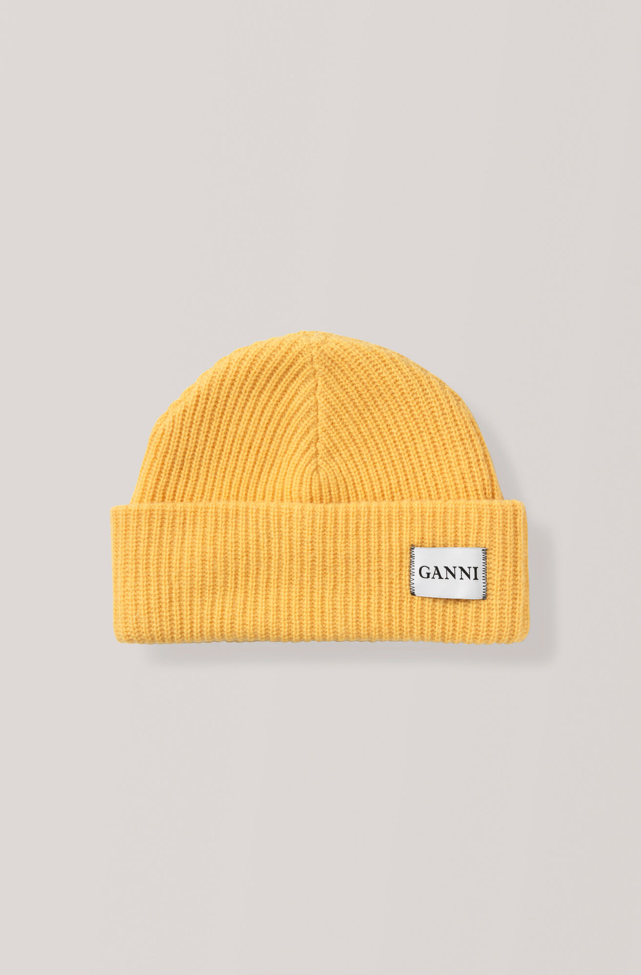 Knit Hat, Lemon, hi-res