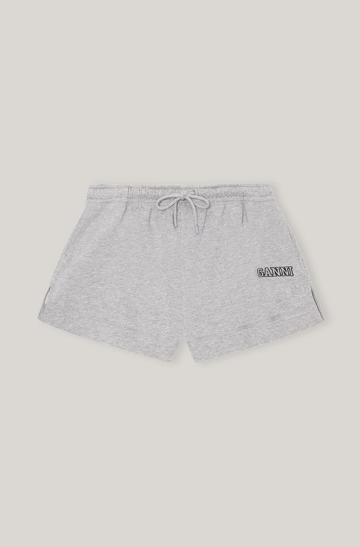 Ganni Software Isoli Drawstring Shorts,Paloma Melange