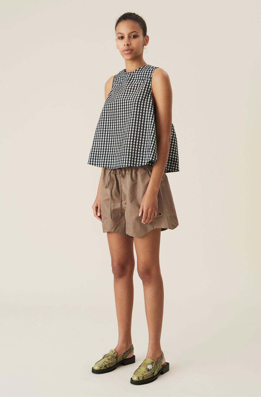Ganni Outerwear Nylon Shorts,파슬 Fossil