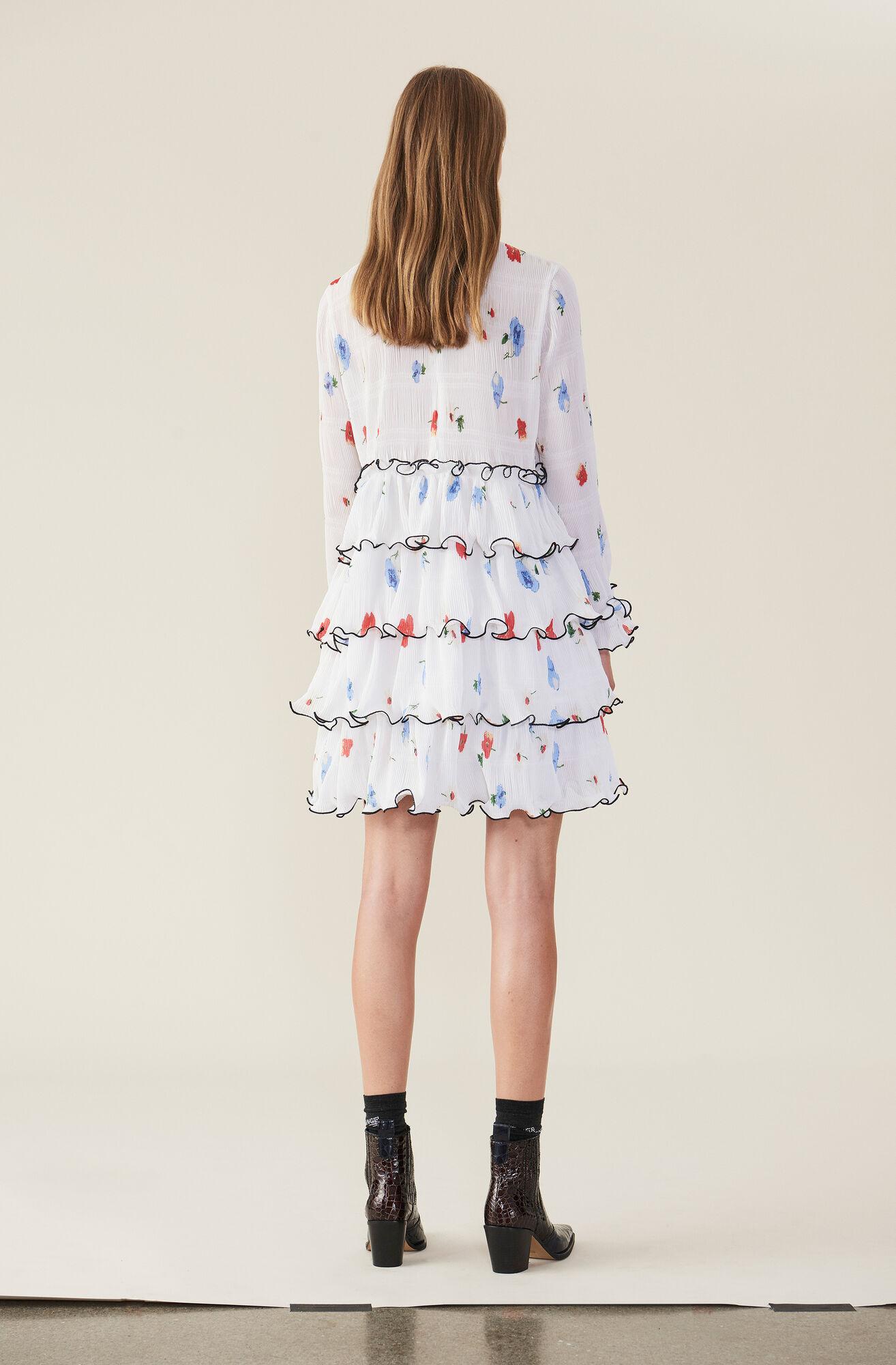 Lowell Mini Dress, Egret, hi-res