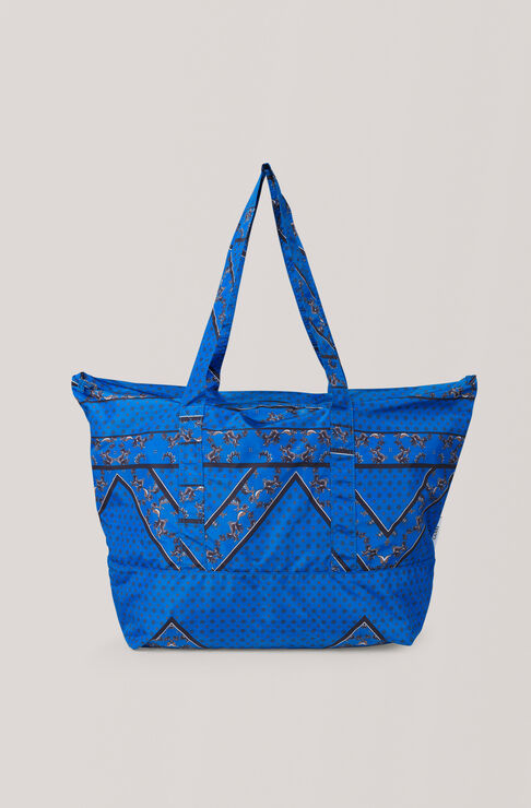 Tech Fabric Accessories Shopper Bag, Lapis Blue, hi-res