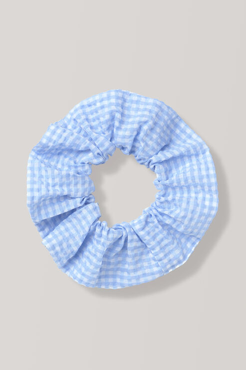 Charron Scrunchie, Serenity Blue, hi-res