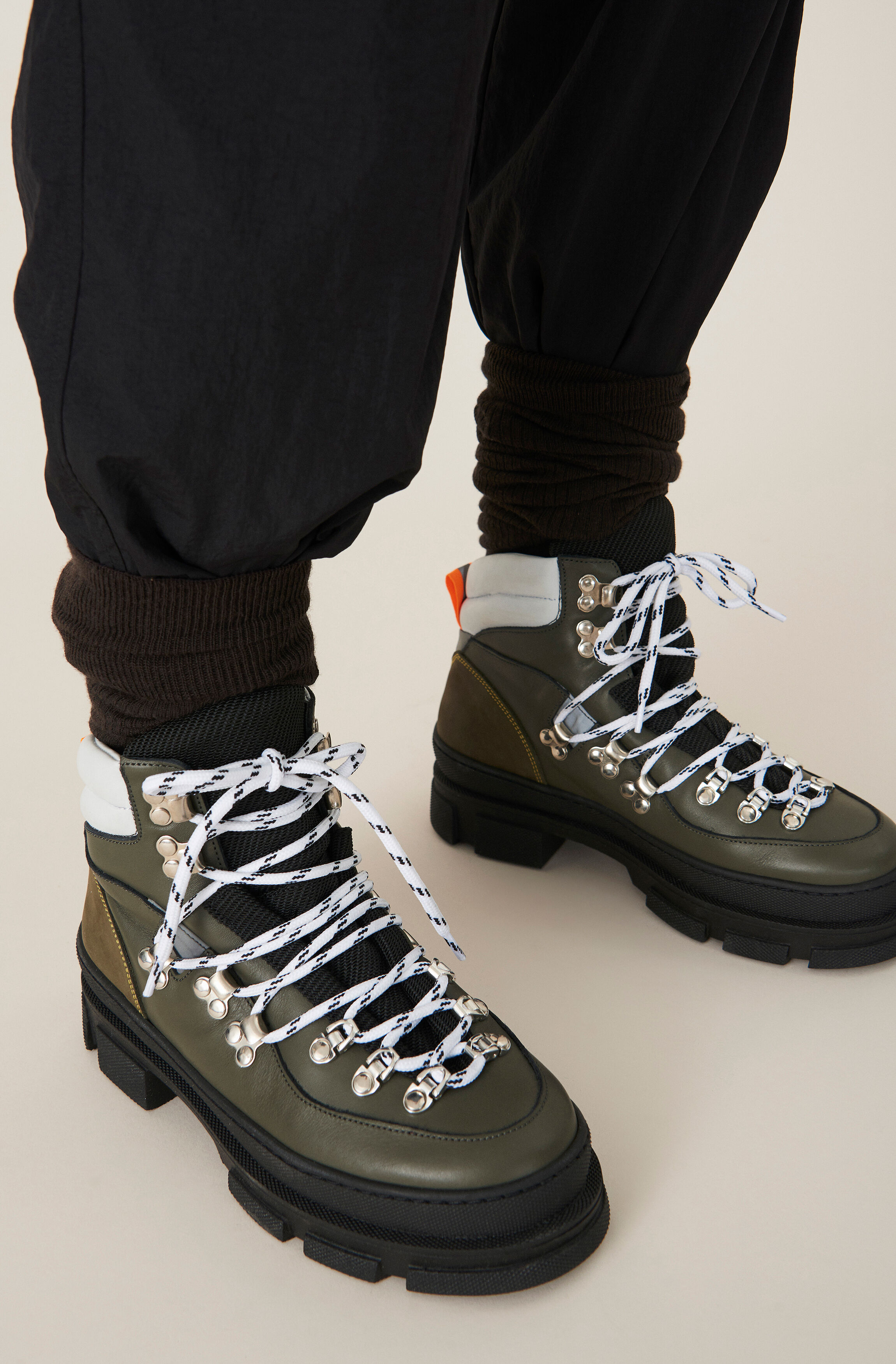 GANNI Sporty Hiking Boots ( 300.00 GBP