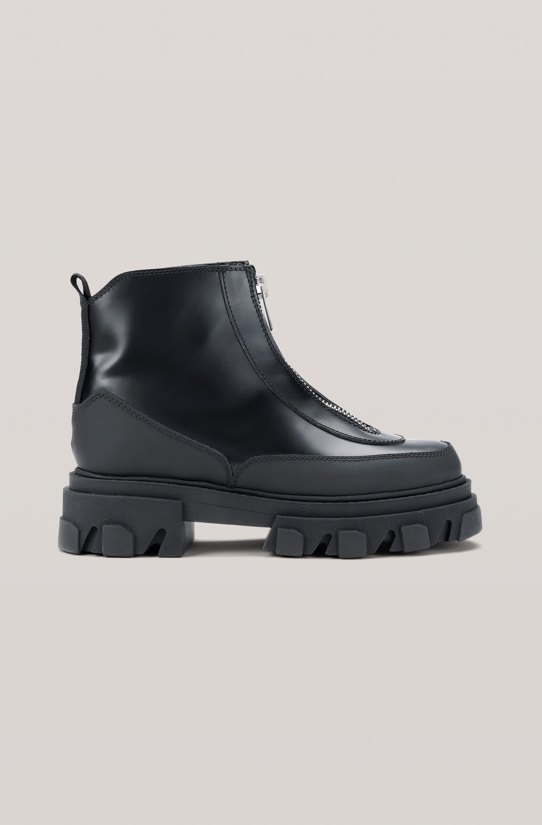 GANNI Polido Zipper Boot ( 2699.00 DKK