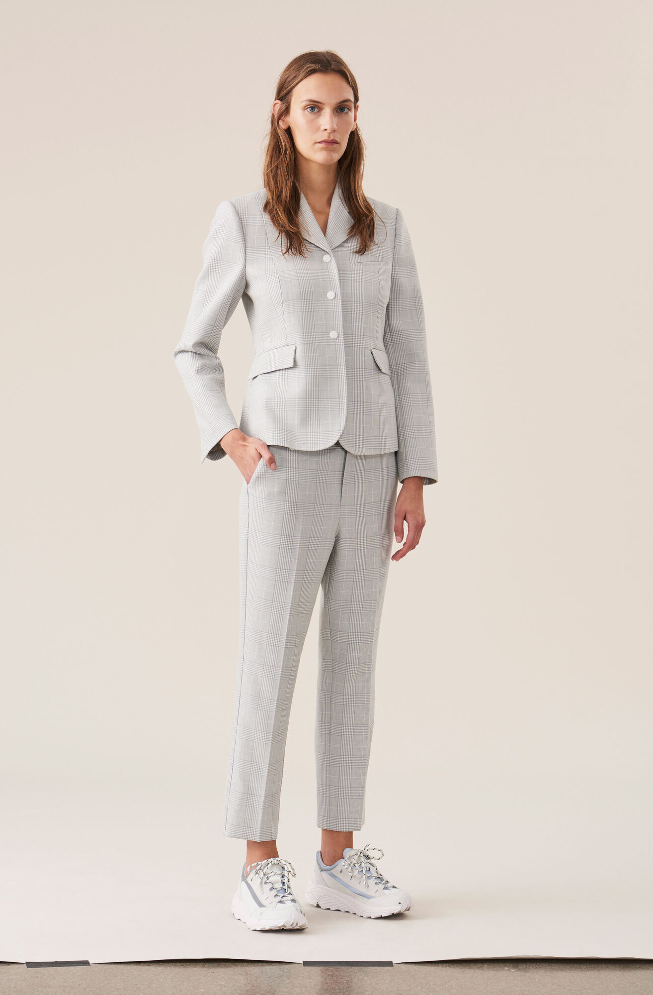 Suiting Blazer, Smoked Pearl, hi-res