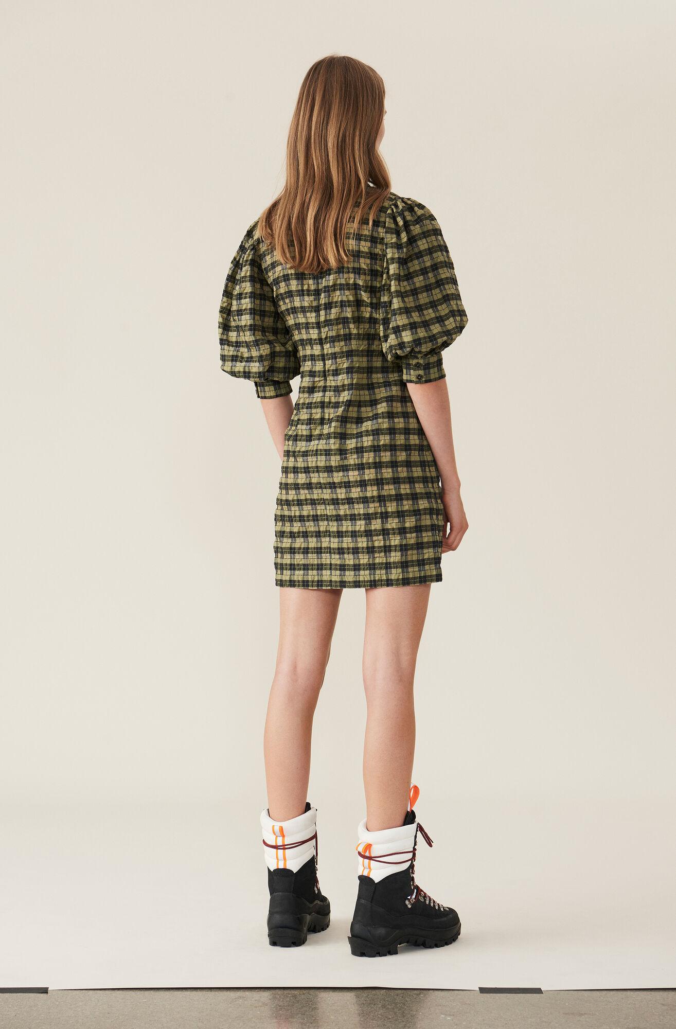 06e010a5aaf2c GANNI Seersucker Check Mini Dress ( 170.00 GBP )