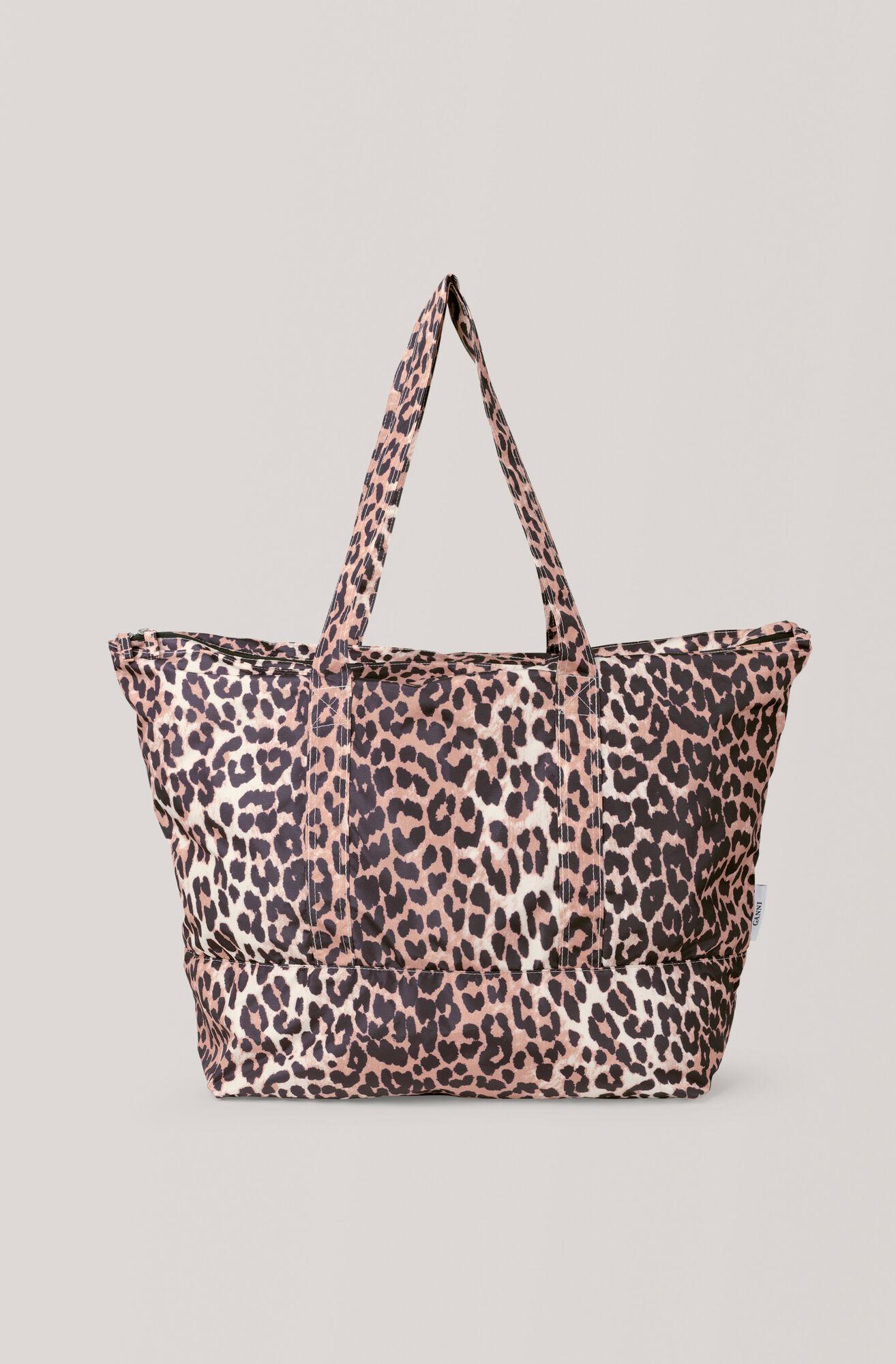 Tech Fabric Accessories Väska, Leopard, hi-res