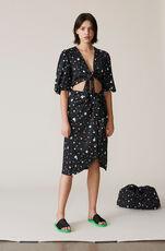 Pineberry Swimwear Skirt, Black, hi-res