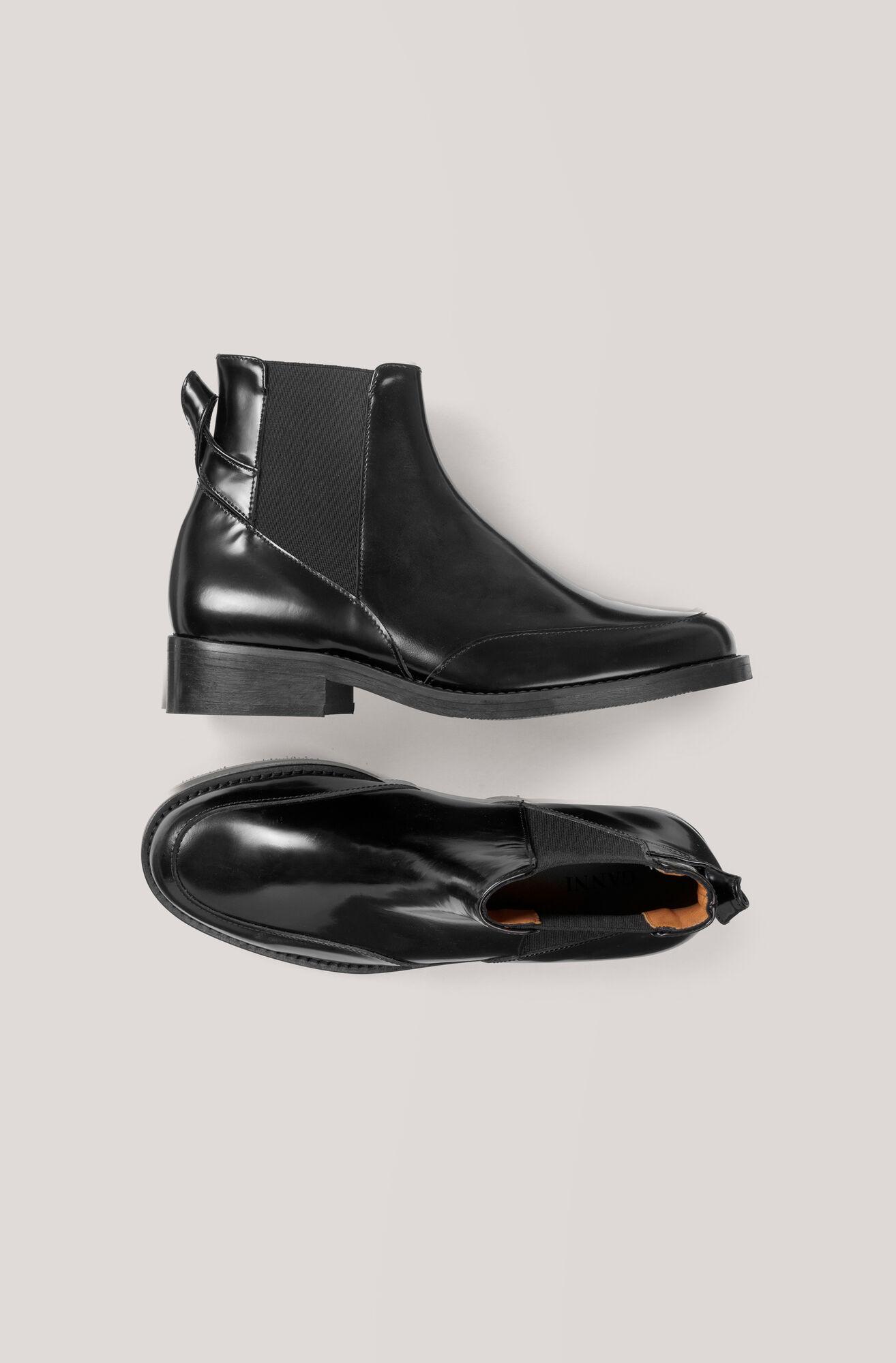 Violet Ankle Boots Ganni
