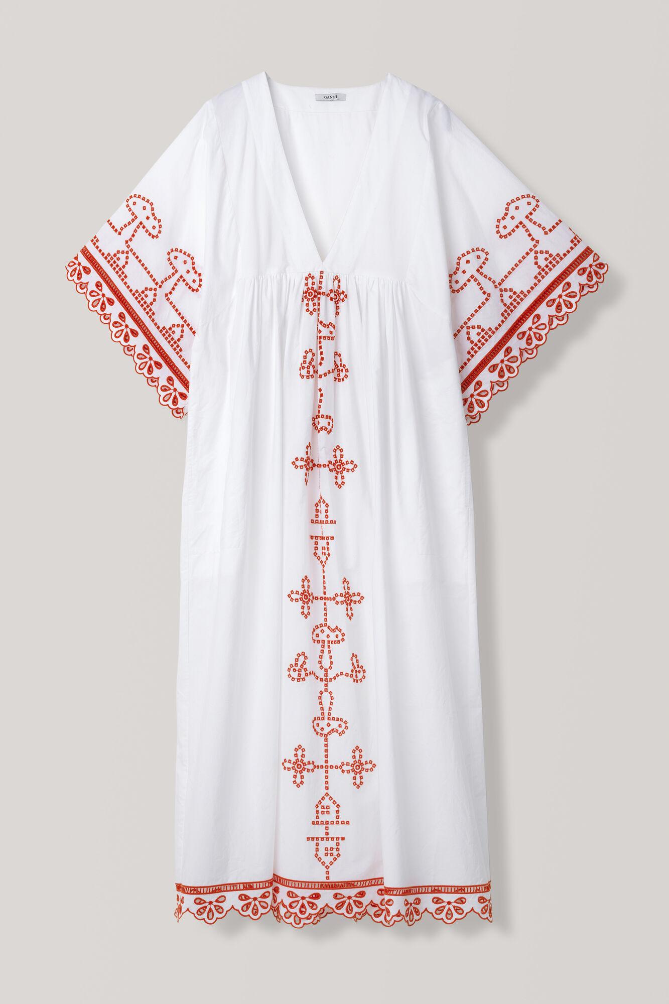 Peony Maxi Dress, Bright White, hi-res