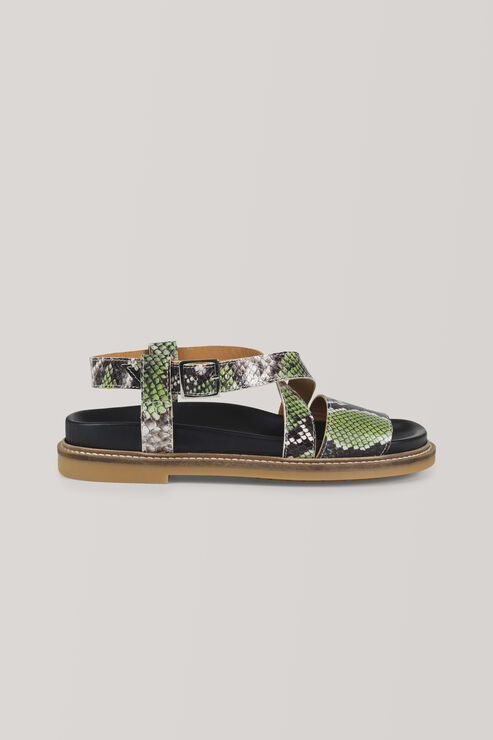 Sigga Sandals, Classic Green, hi-res