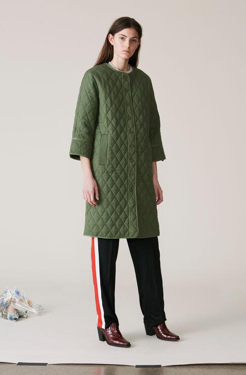 Camellia Coat, Army, hi-res