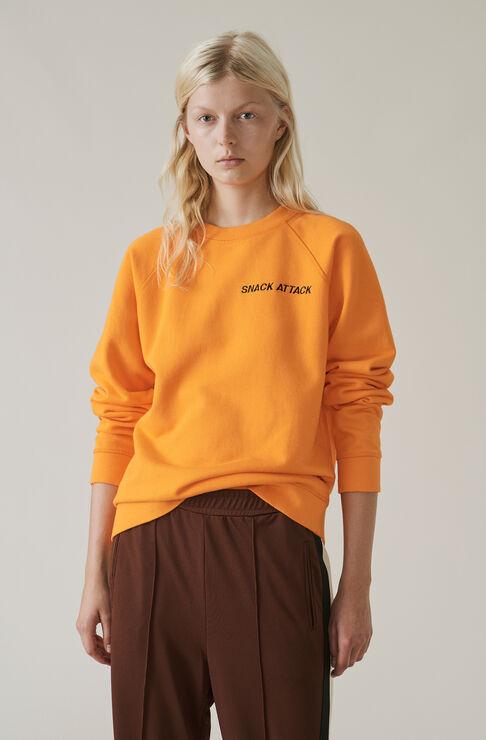 Lott Isoli Sweatshirt, Snack Attack, Turmeric Orange, hi-res