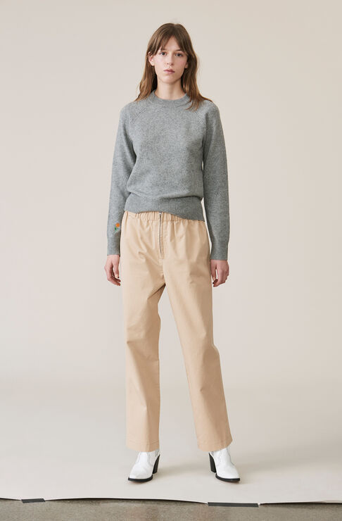 Stretch Chino Pants, Cuban Sand, hi-res