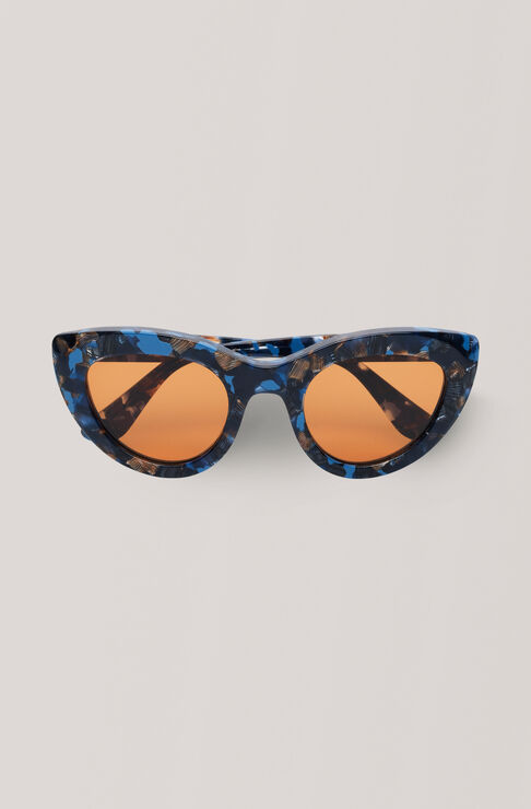 Triangle Sunglasses Solbriller, Lapis Blue, hi-res