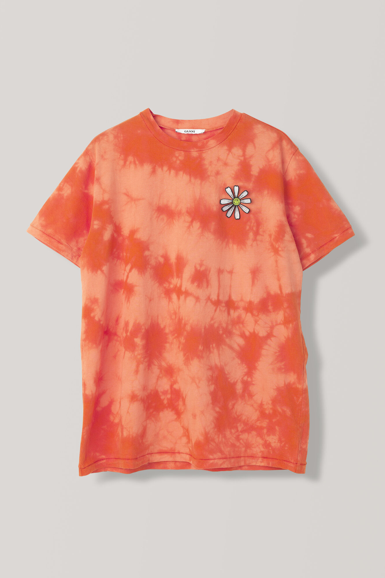 Verbena T-shirt, Daisy, Big Apple Red, hi-res