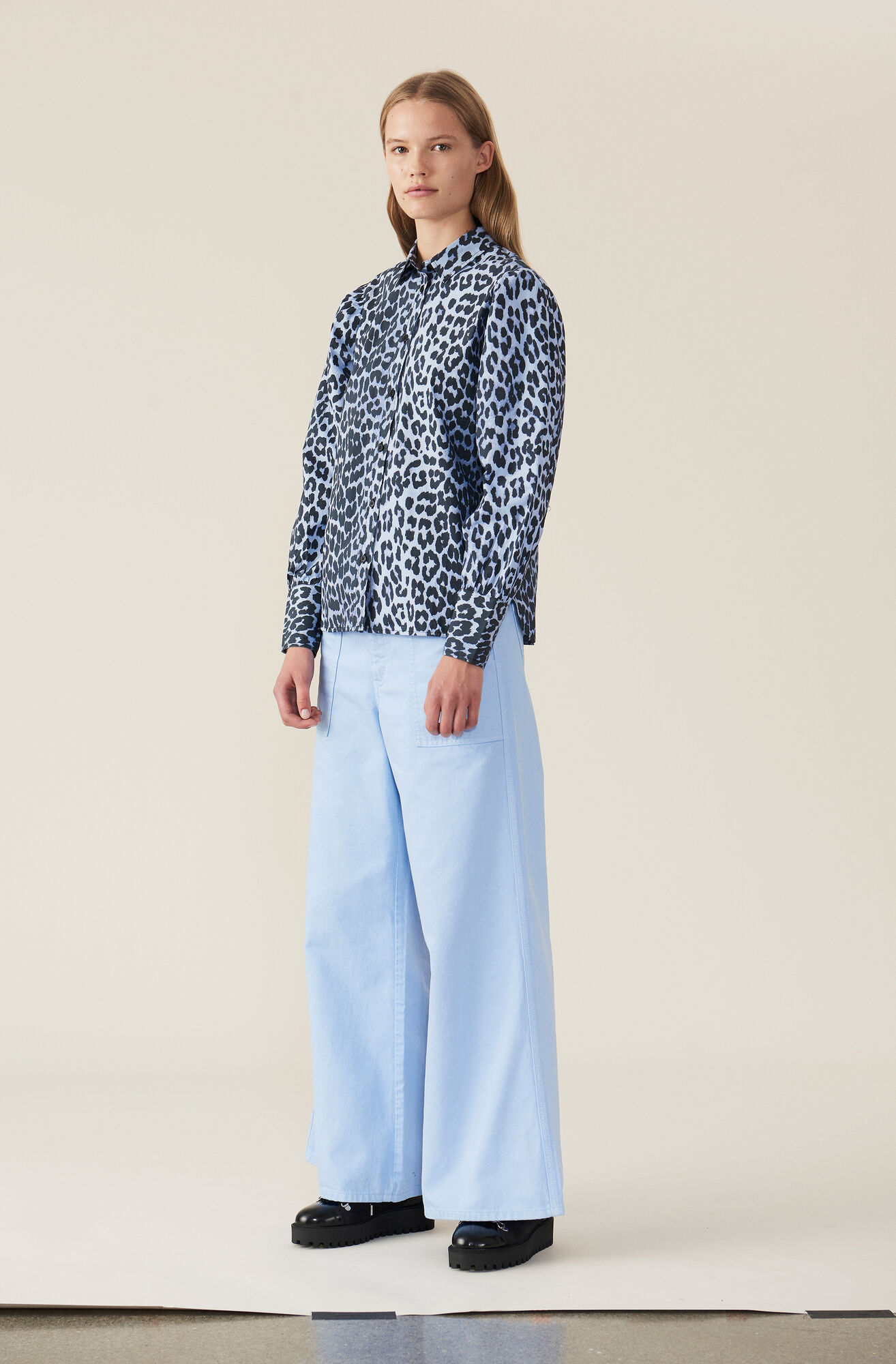 Faulkner Shirt, Serenity Blue, hi-res