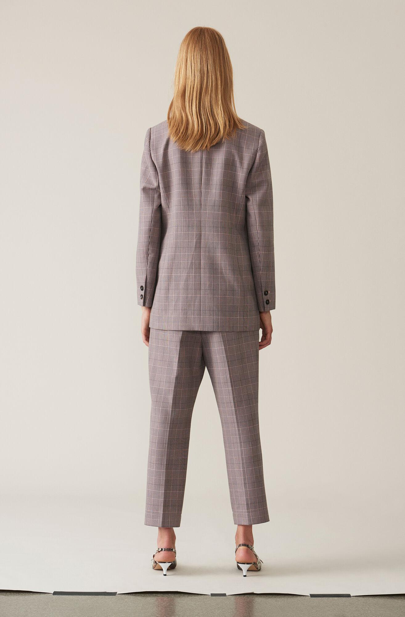 Suiting Slim Pants, Silver Pink, hi-res