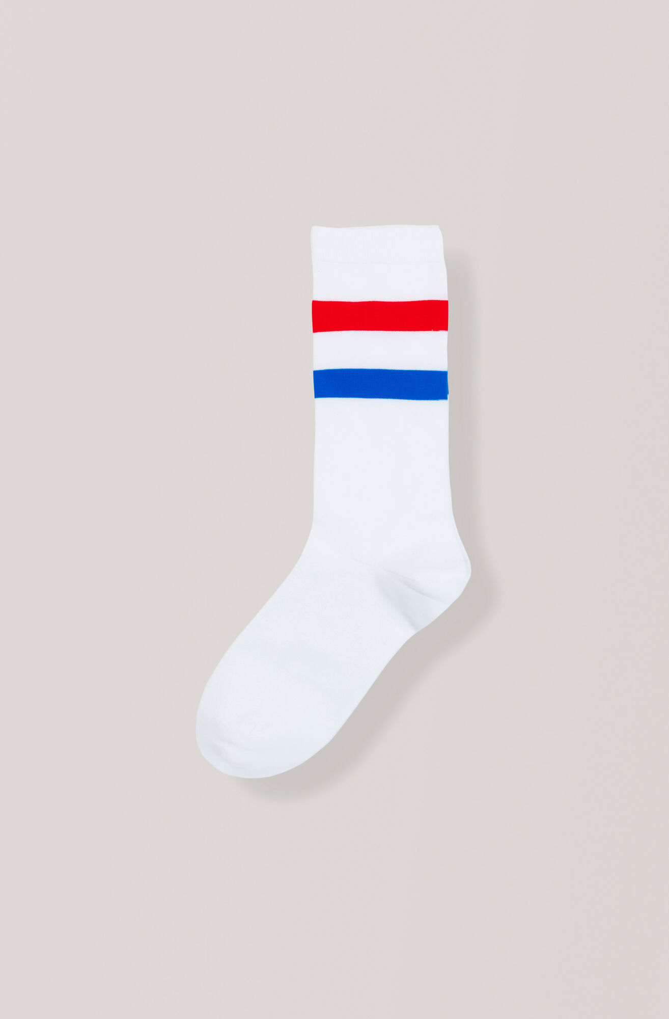 Stripes Ankle Socks, Egret, hi-res