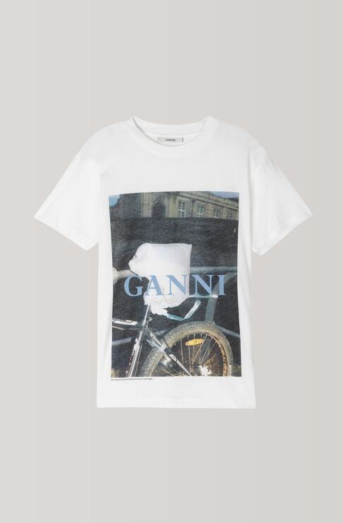 Harway T-Shirt, Bike, Bright White, hi-res