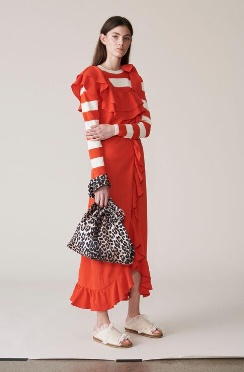 Clark Maxi Dress, Big Apple Red, hi-res