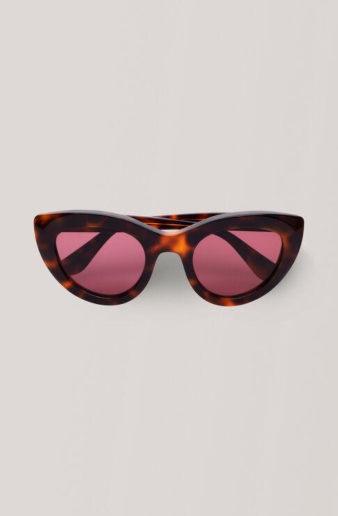 Triangle Sunglasses Solbriller, Tortoise, hi-res