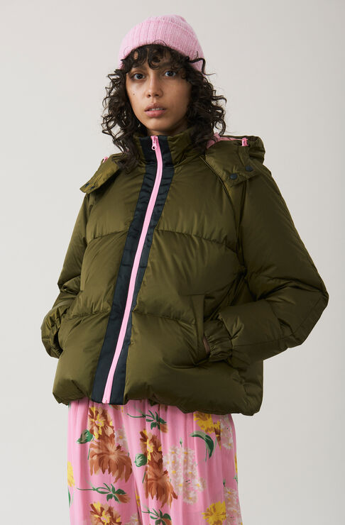 Vandalia Down Jacket, Army, hi-res