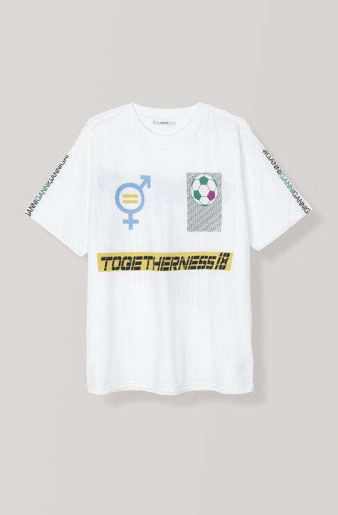 Darwin T-shirt, Togetherness, Bright White, hi-res