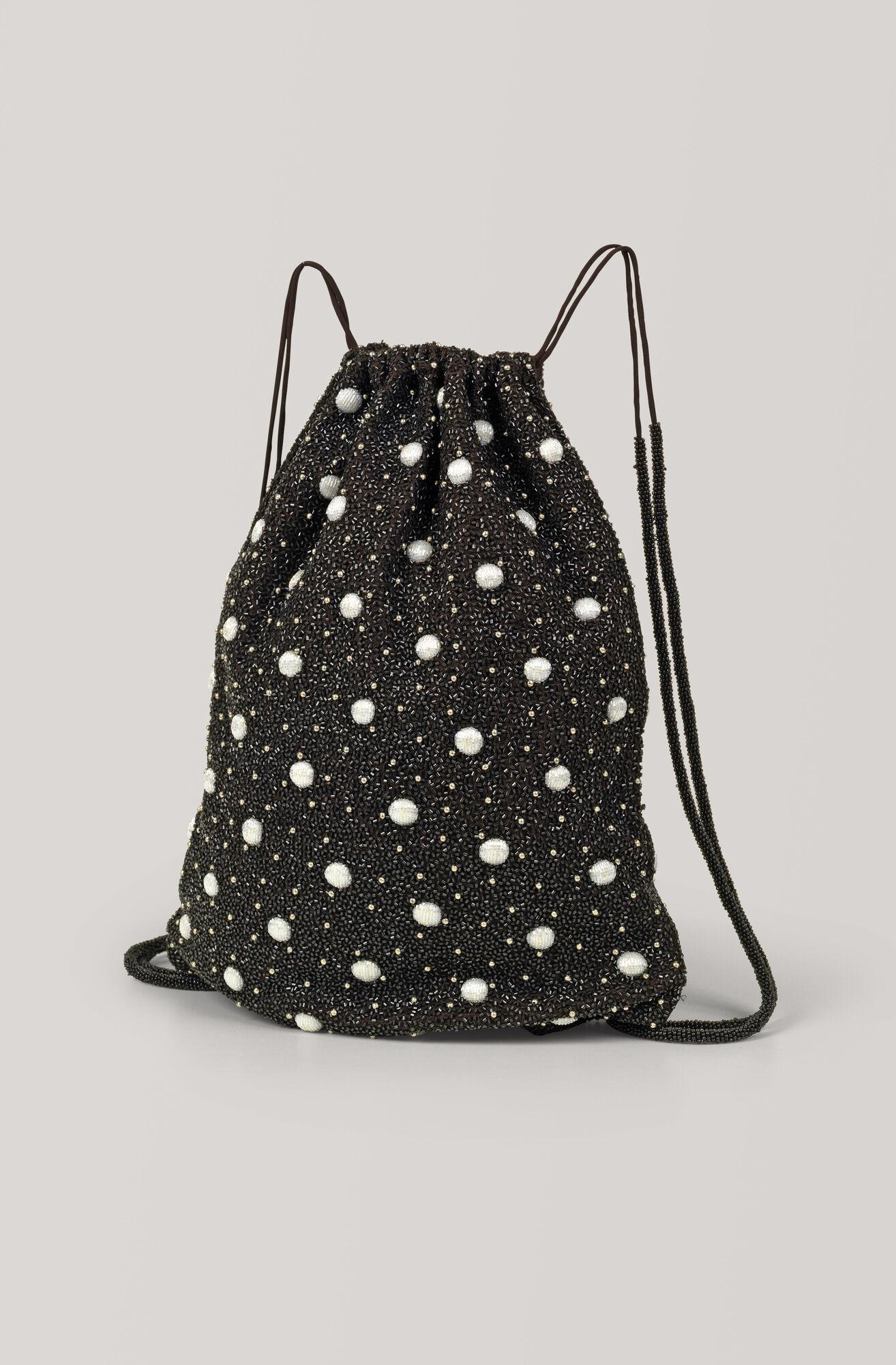 Hand Beaded Accessories Backpack, Ganache, hi-res