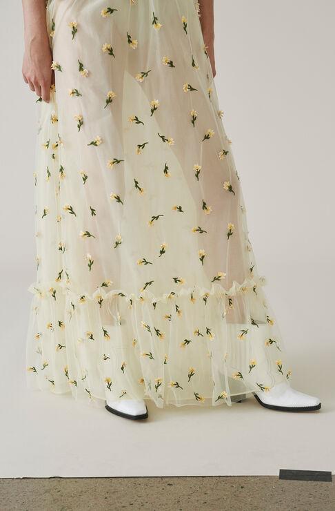 Bliss Maxi Skirt, Anise Flower, hi-res