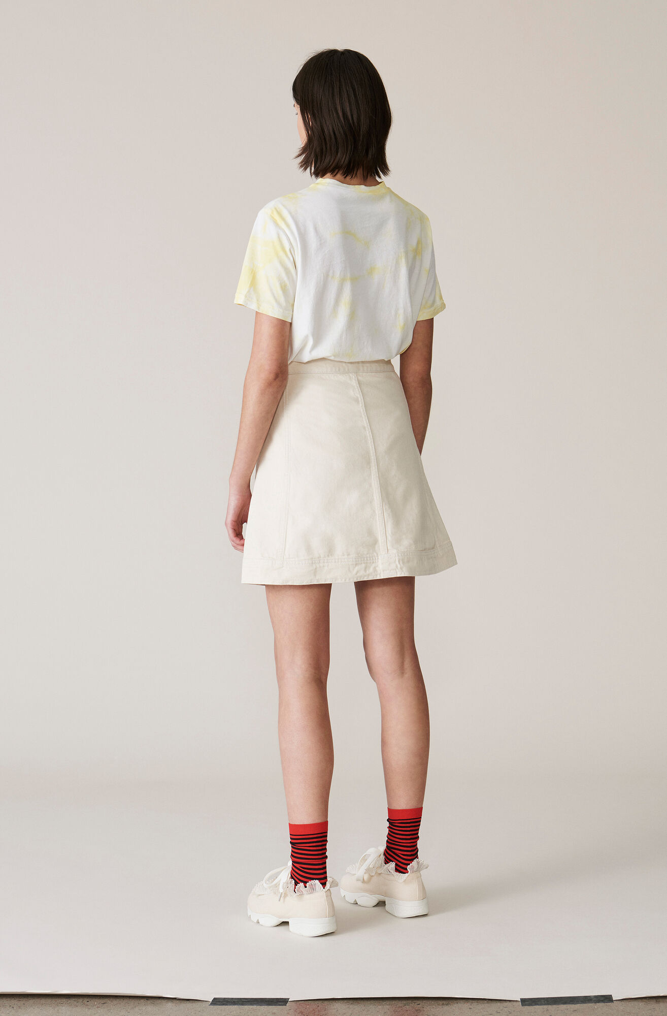 Heavy Twill Skirt, Vanilla Ice, hi-res