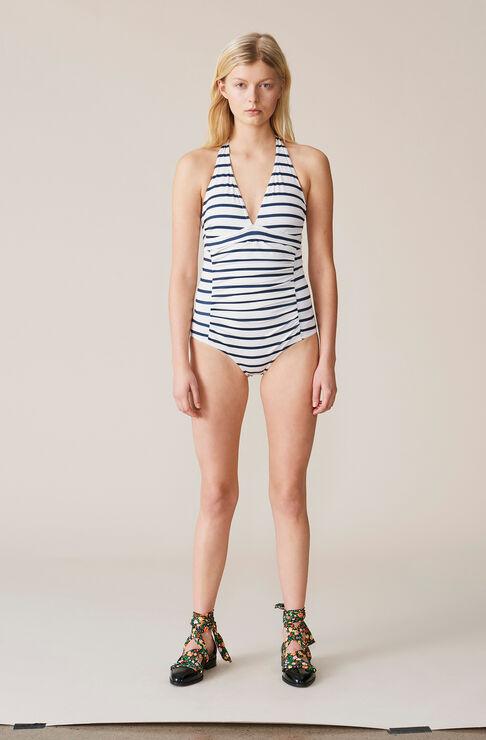 Bienville Swimwear Swimsuit, Vanilla Ice/Total Eclipse, hi-res
