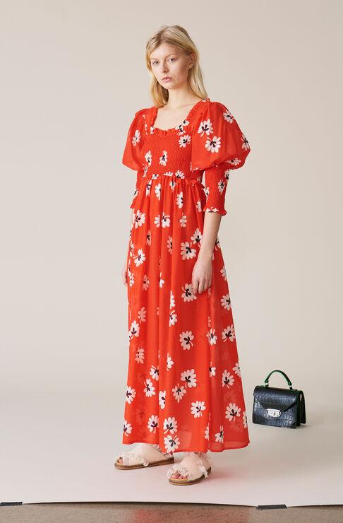 Linaria Maxi Dress, Big Apple Red, hi-res