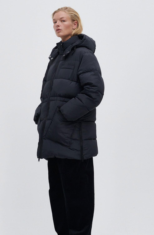 가니 오버사이즈 패딩 자켓 Ganni Recycled Polyester Oversized Puffer Midi Jacket,Phantom