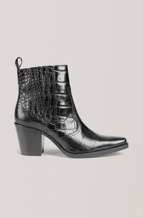 Western Støvler, Black, hi-res